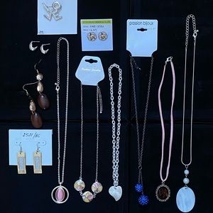 11 Pairs of Jewelry Lot